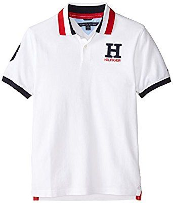 Tommy Hilfiger Boys  Short Sleeve Matt Polo Shirt https   www.amazon 61b20f29b3d