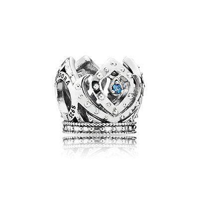 pandora cinderella crown charms