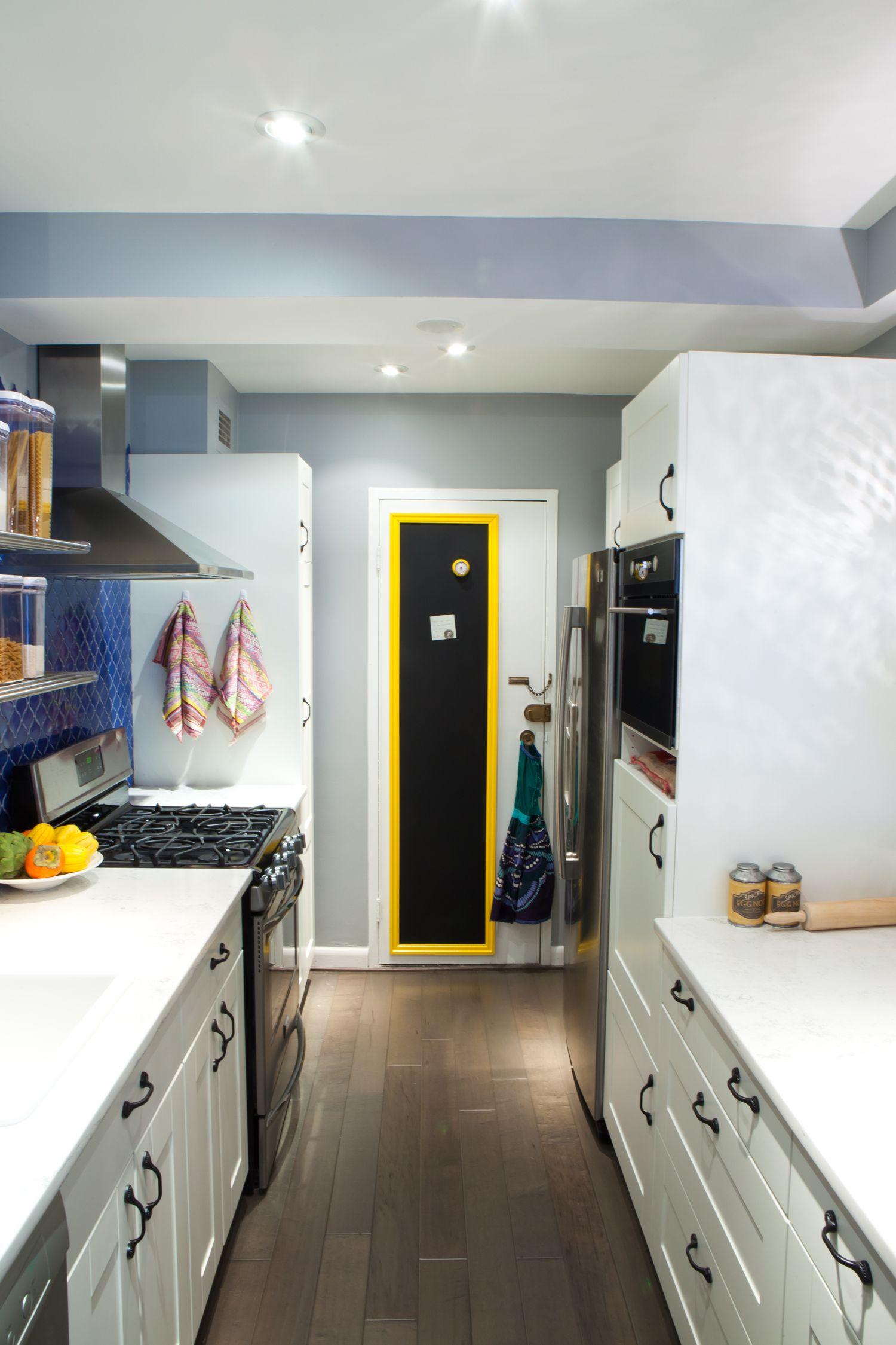 how to reinvent a galley kitchen  dwell kitchen kitchen