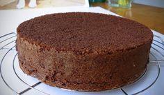 Sponge Cake Viennoise Chocolat