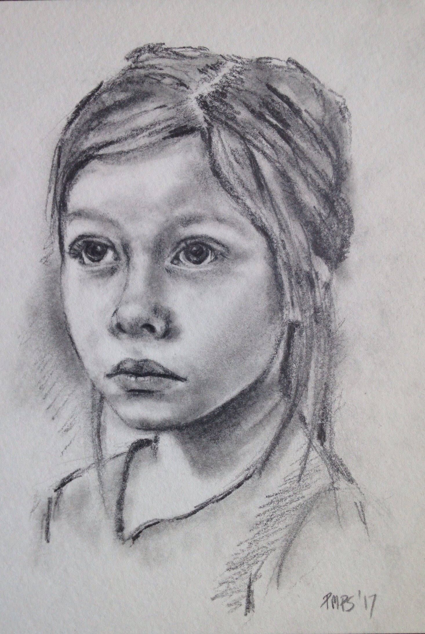 Custom Hand Drawn Portraits One Face