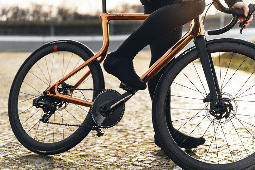 gold medal urwahn bikes x schmolke 3Dprints coppercoated racing bike  gold medal urwahn bikes x schmolke 3Dprints coppercoated racing bike