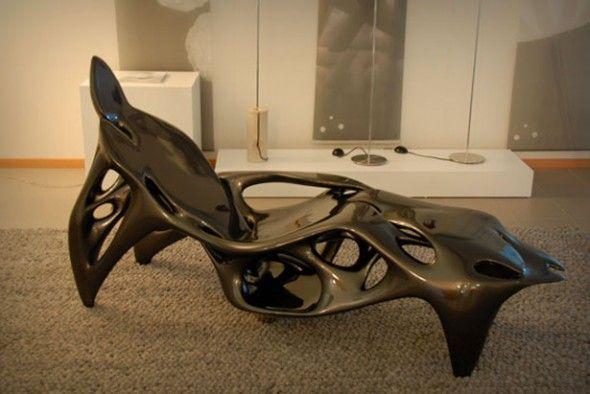 designer sofa cay futuristische optik ? marikana.info - Faltbare Schlafcouch Taglichen Bedarf