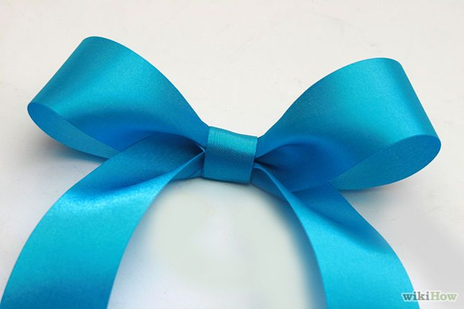 7 Ways to Make a Bow Out of a Ribbon - wikiHow
