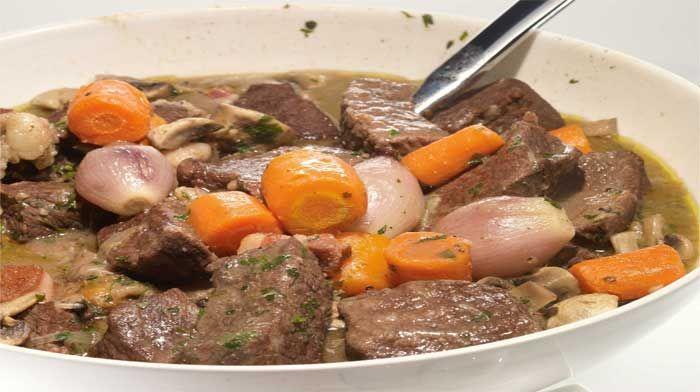 Мясо в соусе у французов