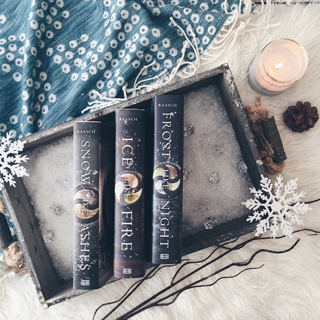 Happy release week Sarah Raasch The conclusion to the Snow Like Ashes Trilogy, Frost like Night hit shelves yesterday! These books look so pretty all complete on my shelf! - ❄️ If you haven't read this trilogy, I very highly recommend it, specially if you like high fantasy. Snow Like Ashes was one of my favorite reads in 2015, I'm linking my Goodreads review for it on my bio if you'd like to check it out. - ❄️ I will leave the synopsis for Frost Like Night below! - ❄️ What releases were y...