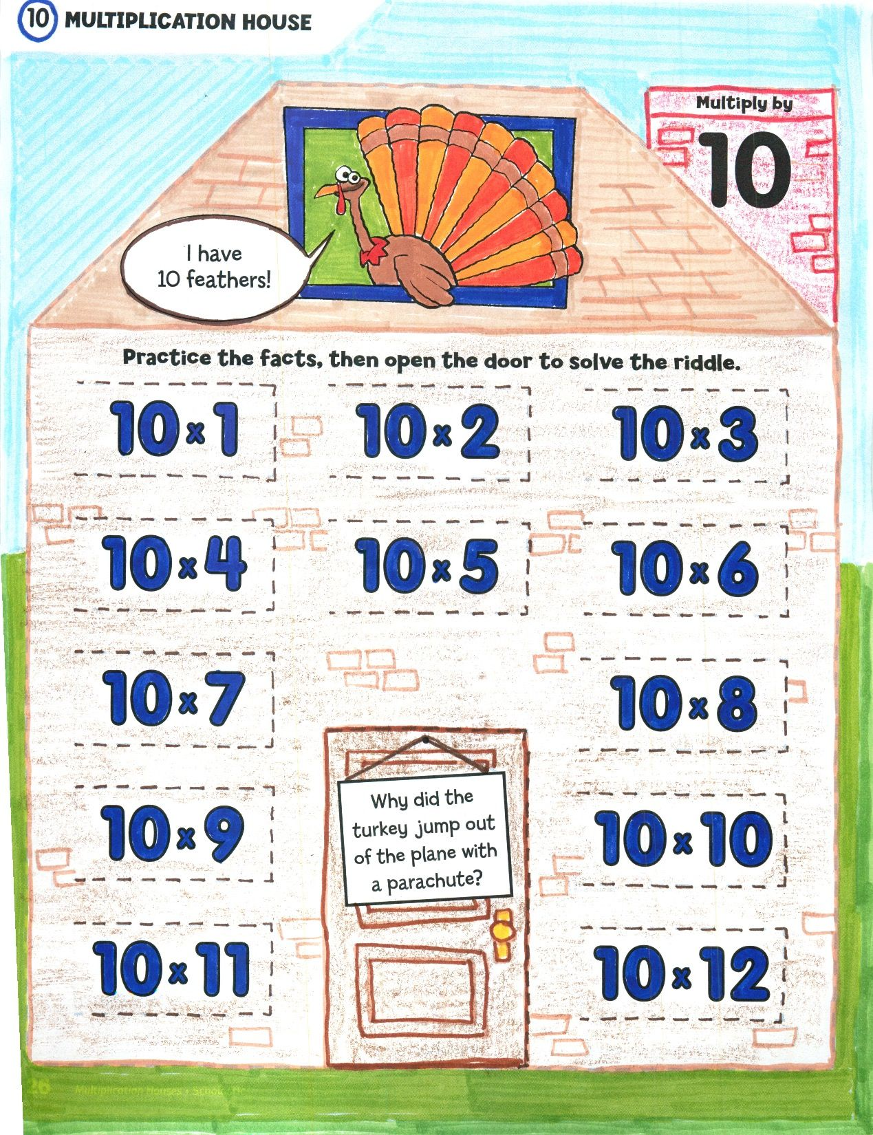 Memorizing The Multiplication Tables Is Easy With This