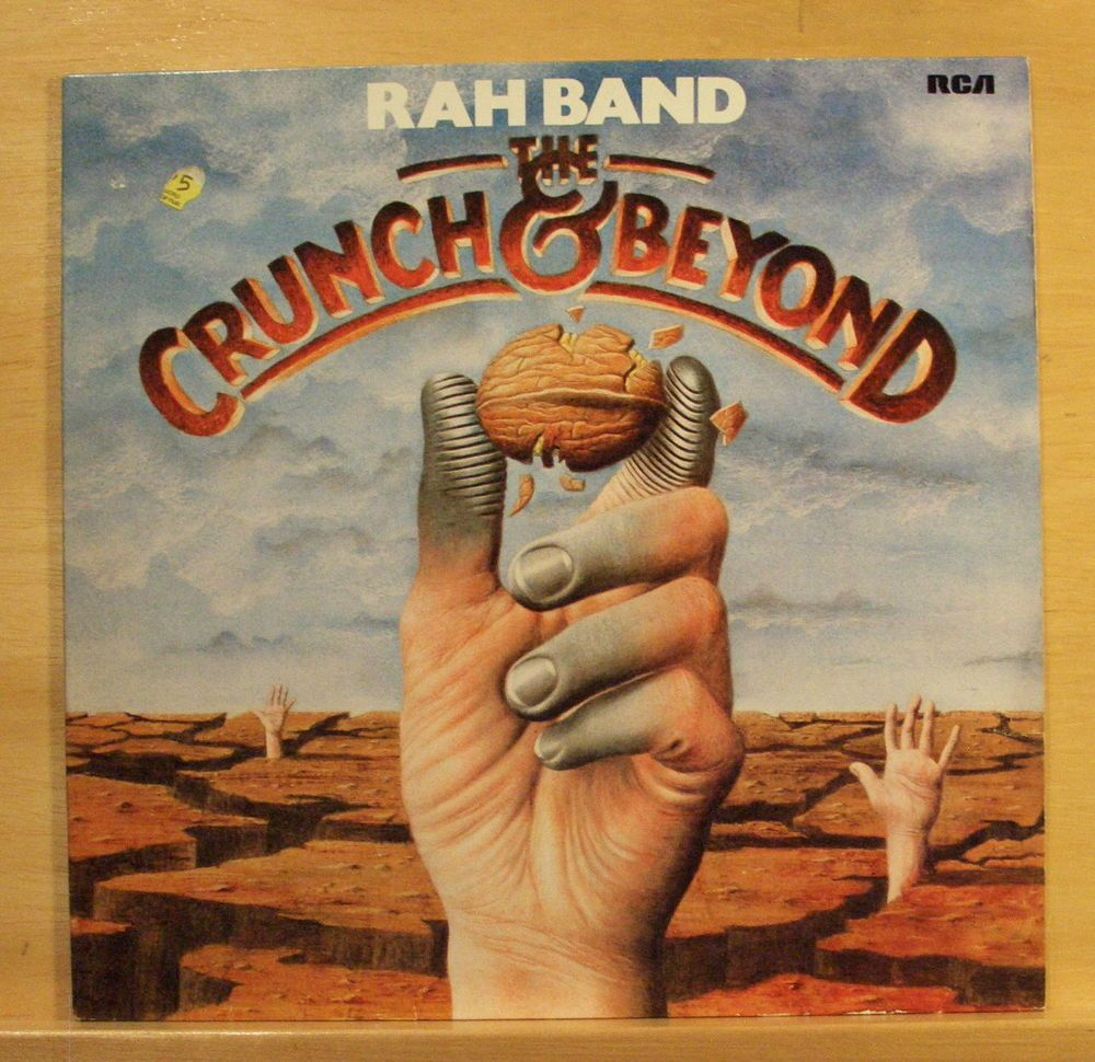 RAH BAND - The Crunch and Beyond - Vinyl LP Electric Fling Is anybody there RARE