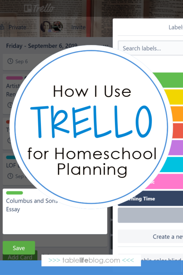 How I Use Trello for Homeschool Planning and Recordkeeping