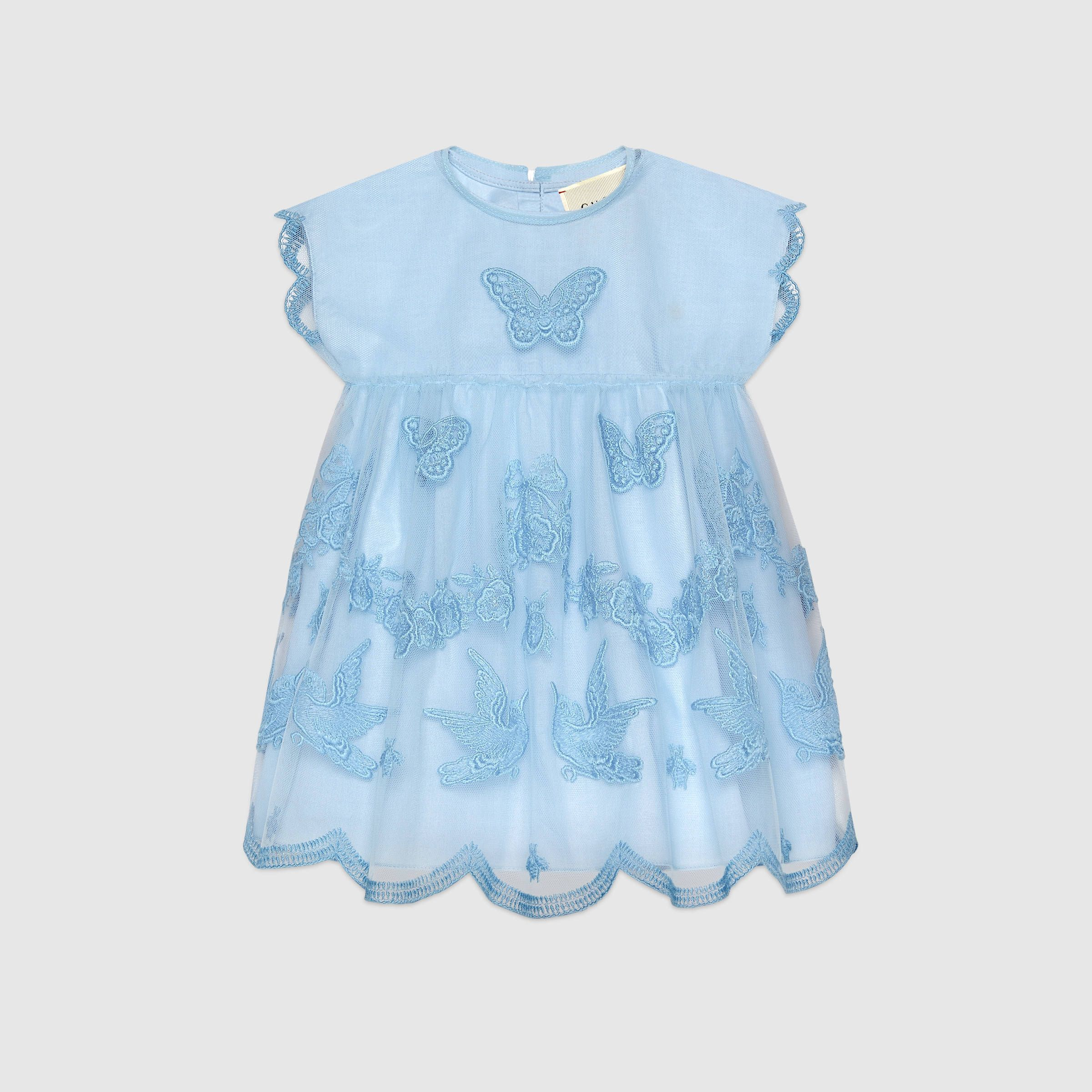 Baby tulle dress with embroidery peggy Pinterest