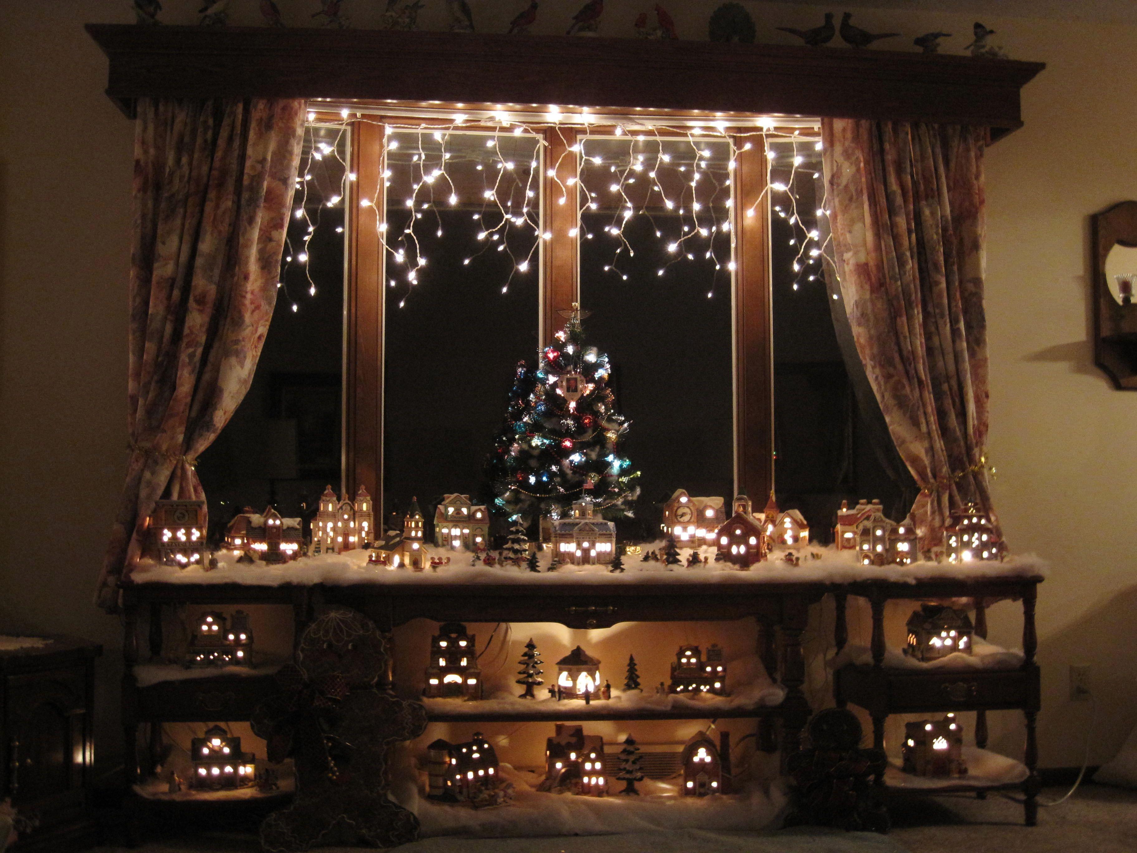 Grandma Lefton Christmas Villages