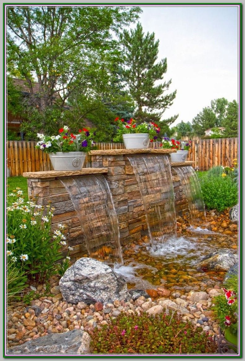 Small Garden Design Praise Water Features Of Fountains Pools