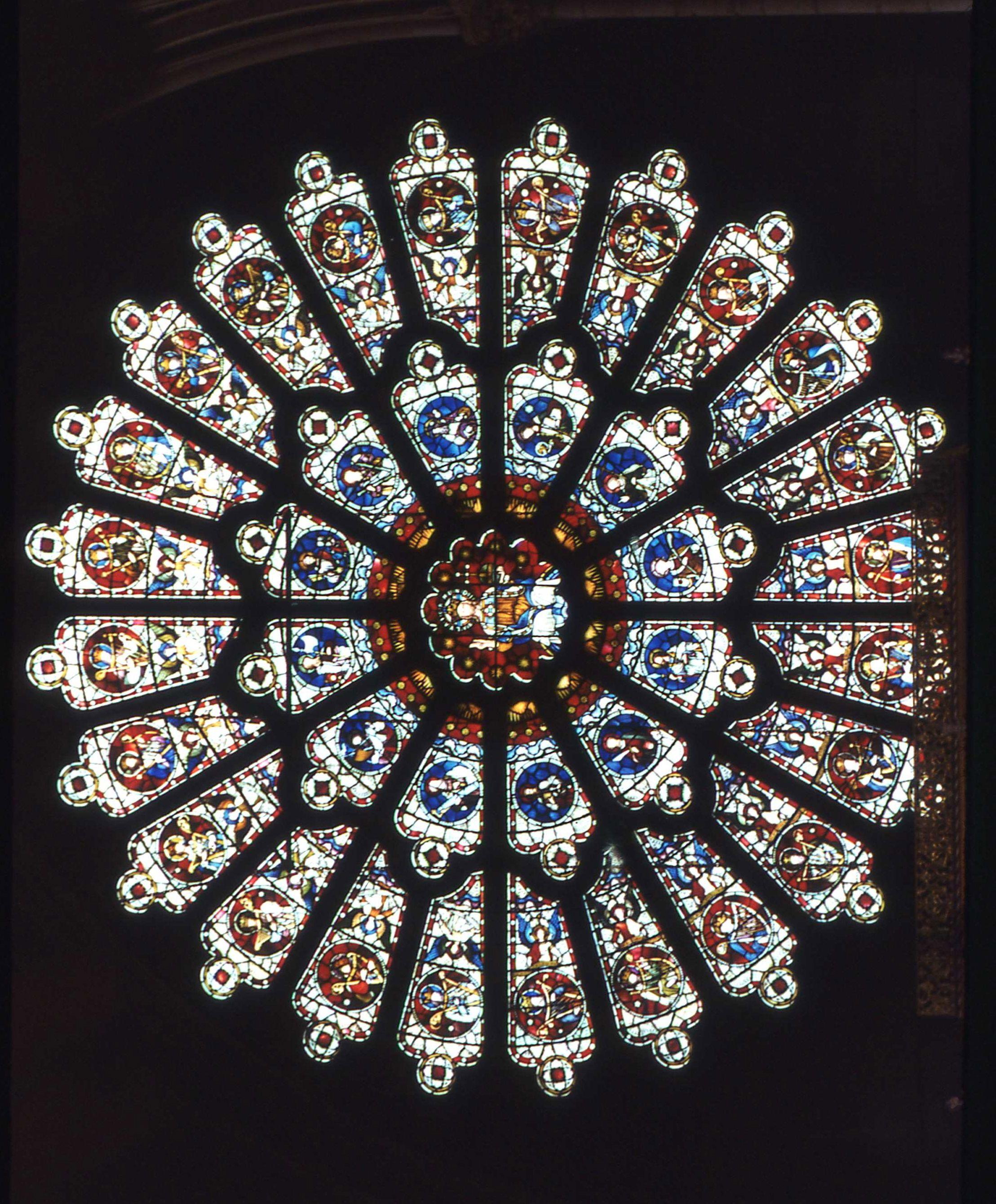 Rosace  Cathédrale de Durham