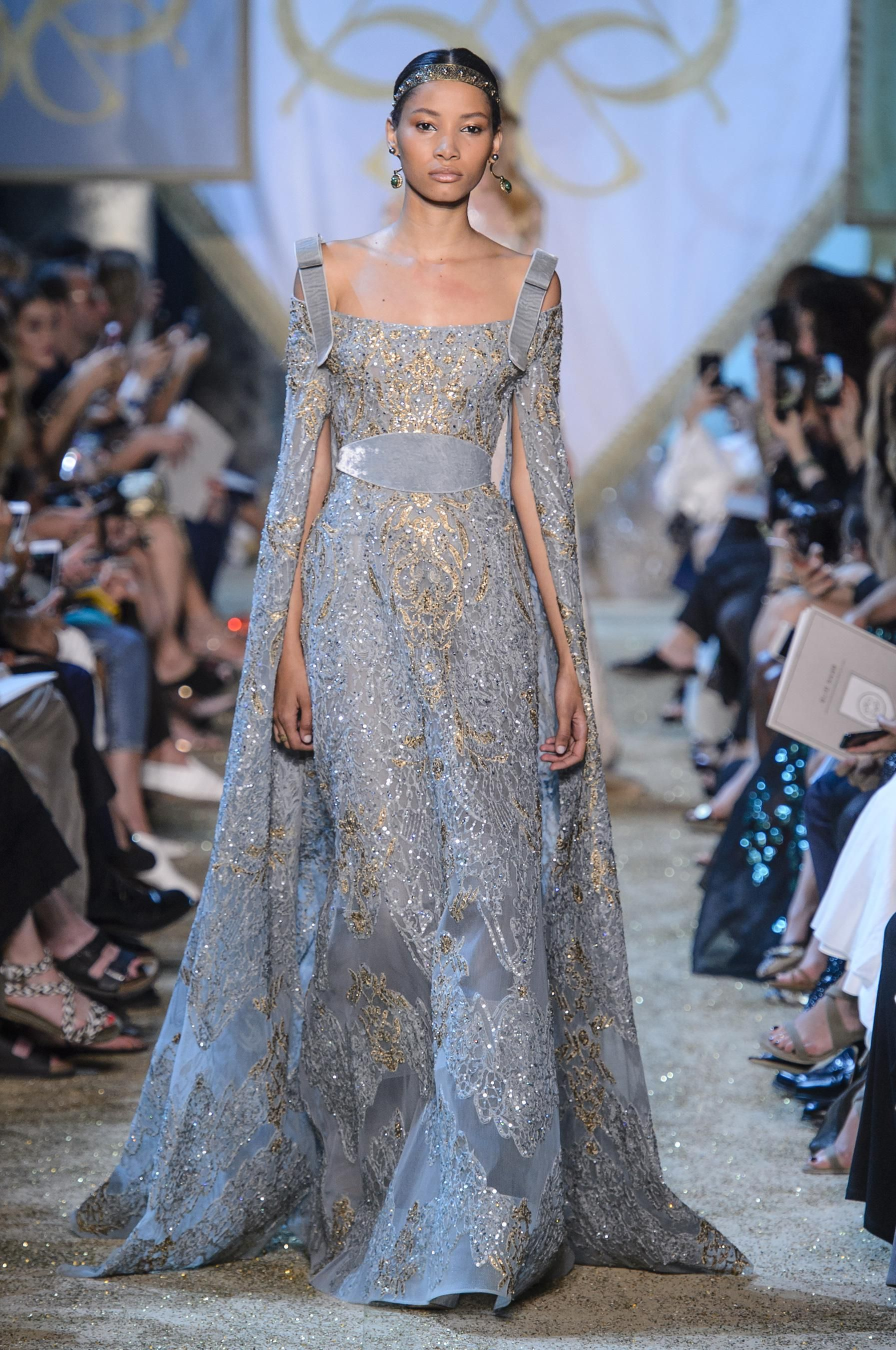 D fil elie saab automne hiver 2017 2018 haute couture for Couture clothing