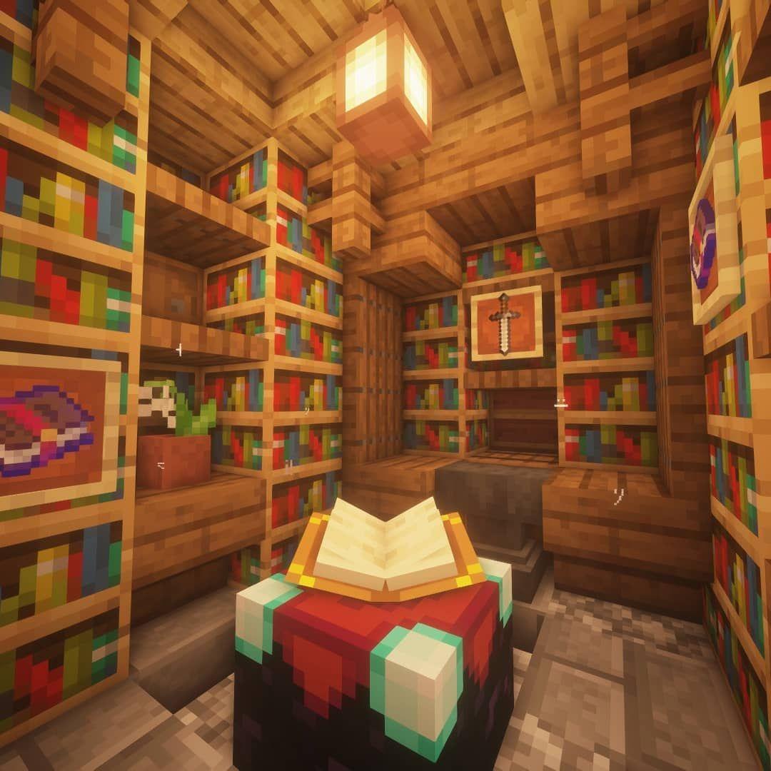 Nyama Nalichno Opisanie Na Snimkata Minecraft Houses Minecraft Interior Design Minecraft Designs