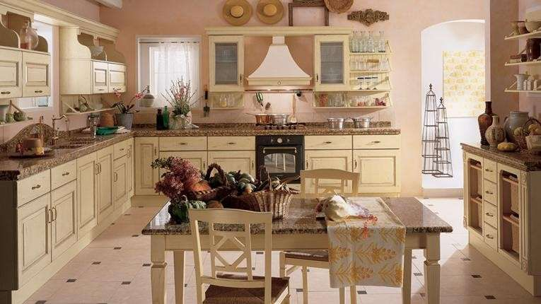 Idee colore pareti cucina - Colore pareti per cucina accogliente ...