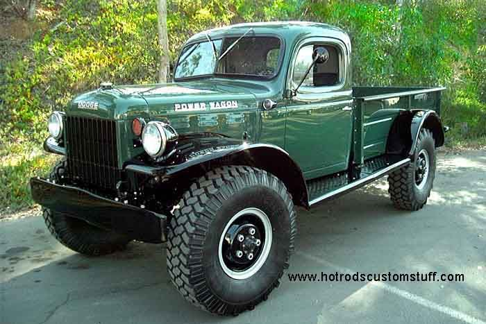 Dodge Power Wagons 1940 S And Up For Sale Hot Rods Custom Stuff