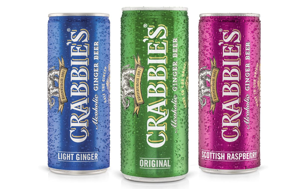 Halewood Wines & Spirits Adds 250ml Cans To Crabbie's