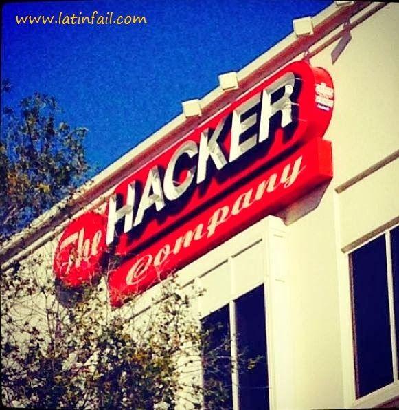 Nombres graciosos de empresas - THE HACKER COMPANY
