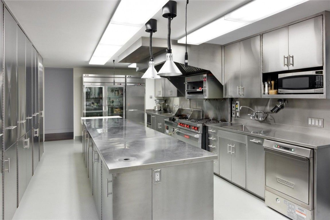 Uncovering Facts About Metal Kitchen Cabinets Restaurant Kitchen