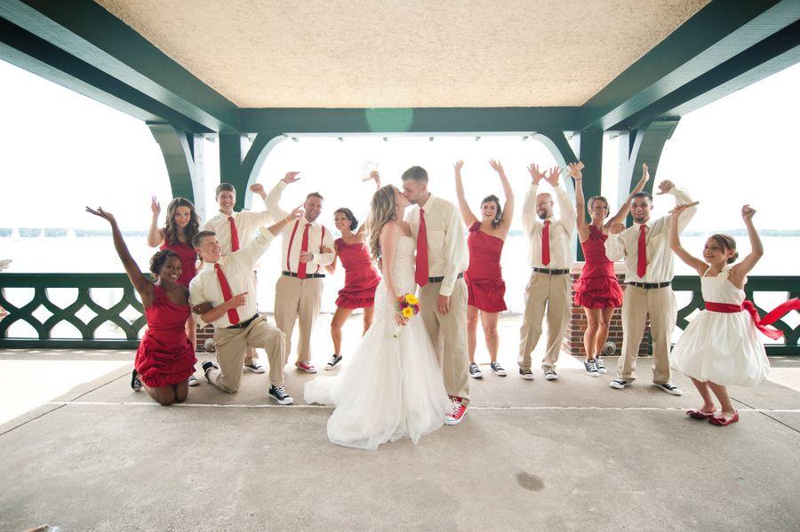 Converse Chuck Taylor Wedding Shoes Wedding Party Photos Melissa