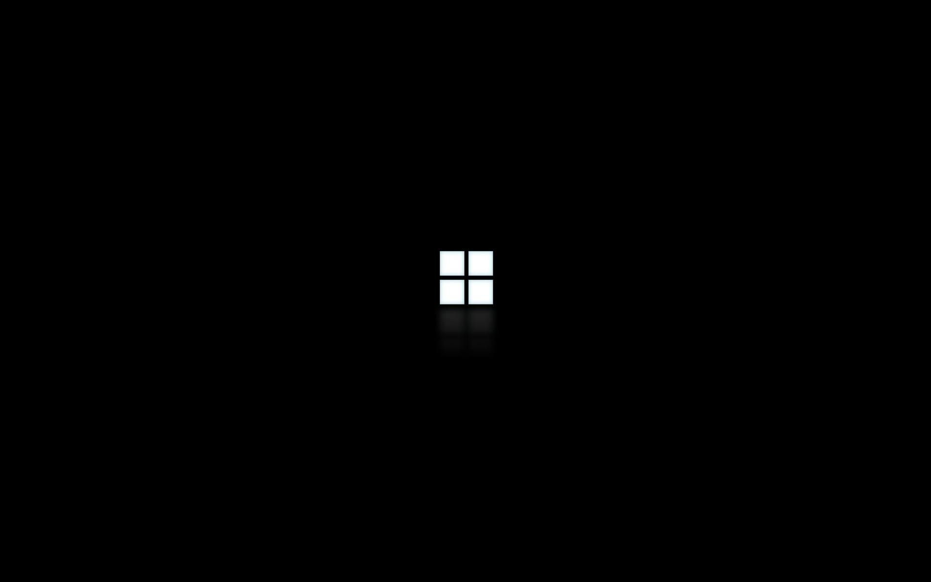 Windows 7 Dark Wallpaper Minimalist desktop wallpaper