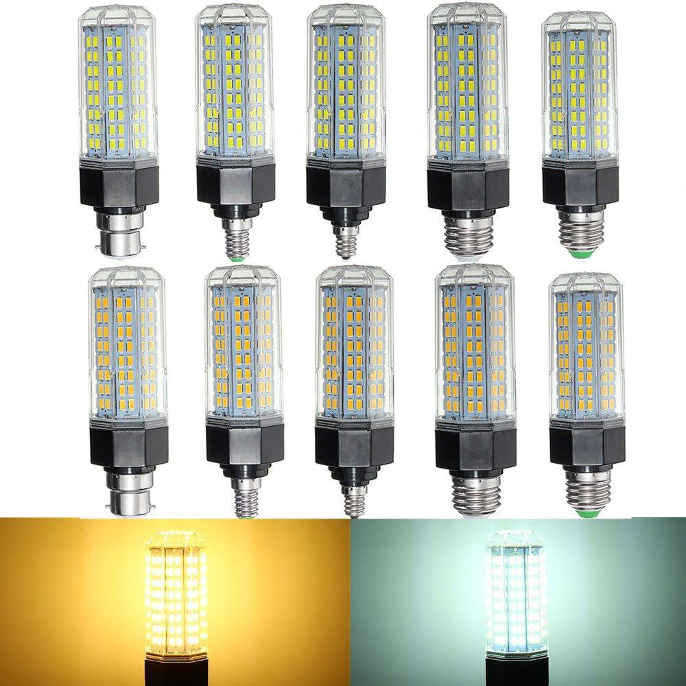 E27 E14 B22 E26 E12 10W Smd5730 Dimmable Led Corn Light Lamp Bulb Impressive Kitchen Light Bulbs Decorating Inspiration