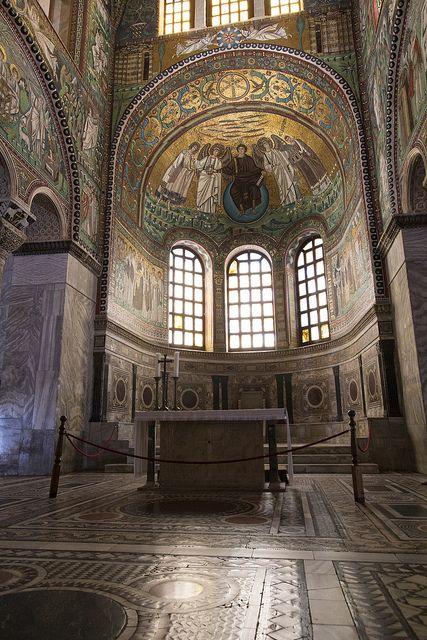 Apse Of San Vitale Byzantine Art Byzantine Architecture Ravenna