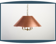 2 Piece Copper Shade Lighting - Lowcountry Originals