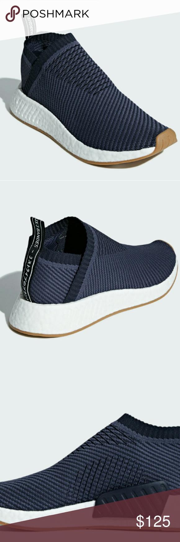 Adidas NMD CS2 Primeknit (Navy/Gum
