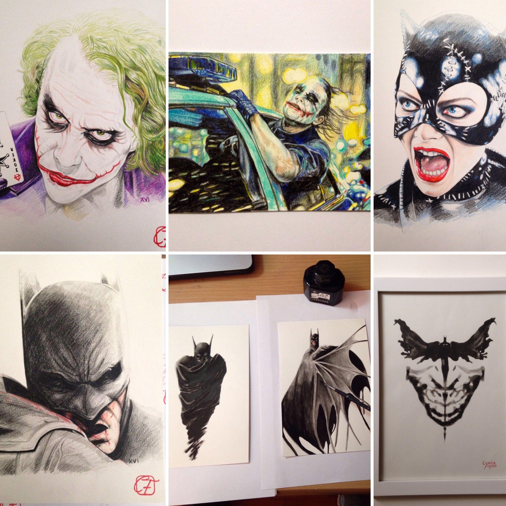 Dibujos a pedido de tu personaje favorito Batman Guasn