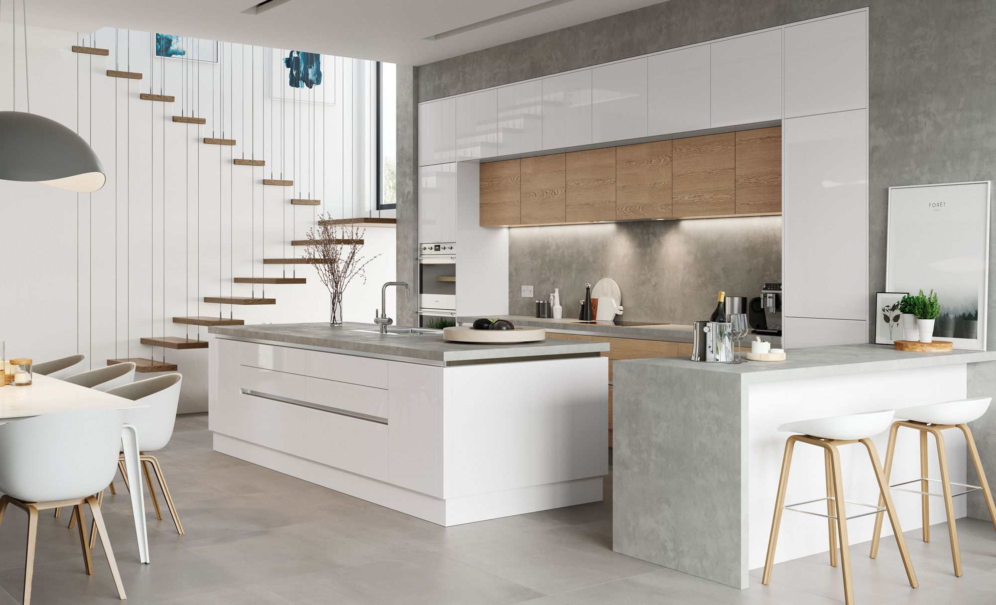 Found On Bing From Www Kitchenstori Com Contemporary Kitchen Kitchen Design Small Contemporary Kitchen Cabinets