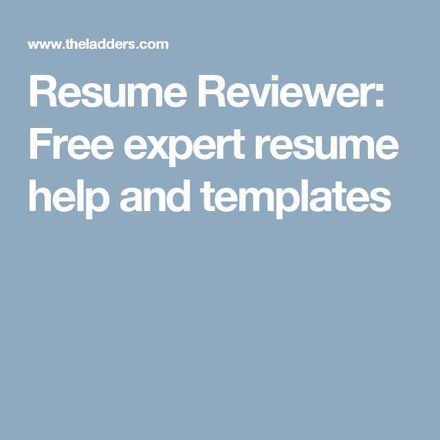 Resume Reviewer | Resume Reviewer Pinterest