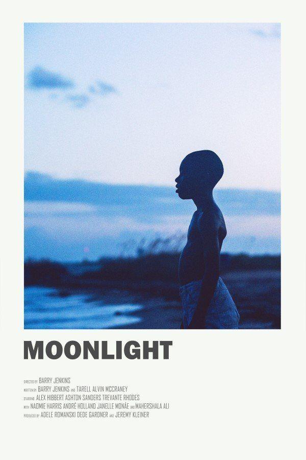 Image of Moonlight - Minimalist poster #filmposterdesign