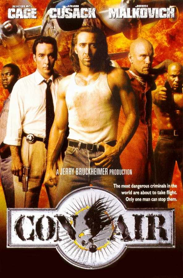 Con Air 1997 A Newly Released Ex Con And Former Us Ranger Finds