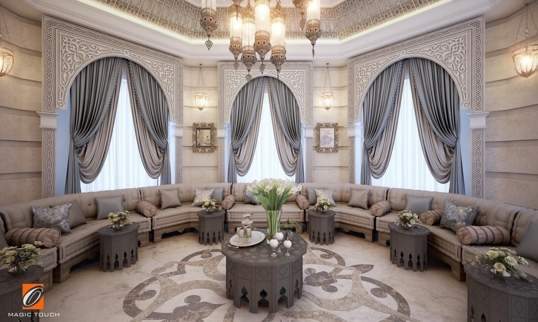 oriental majlis - qatar   Home decor, Arabian decor, Home