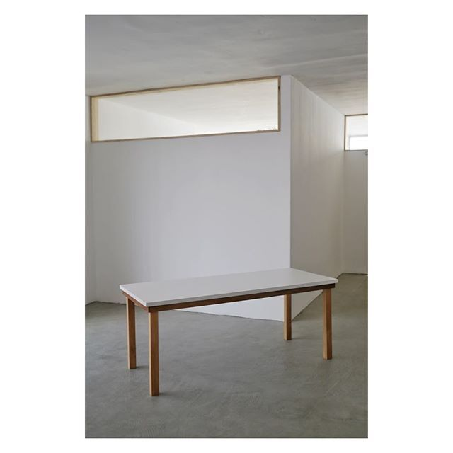 Dining Table 180cm X 80cm Iroko And Beech Wood Formica Top