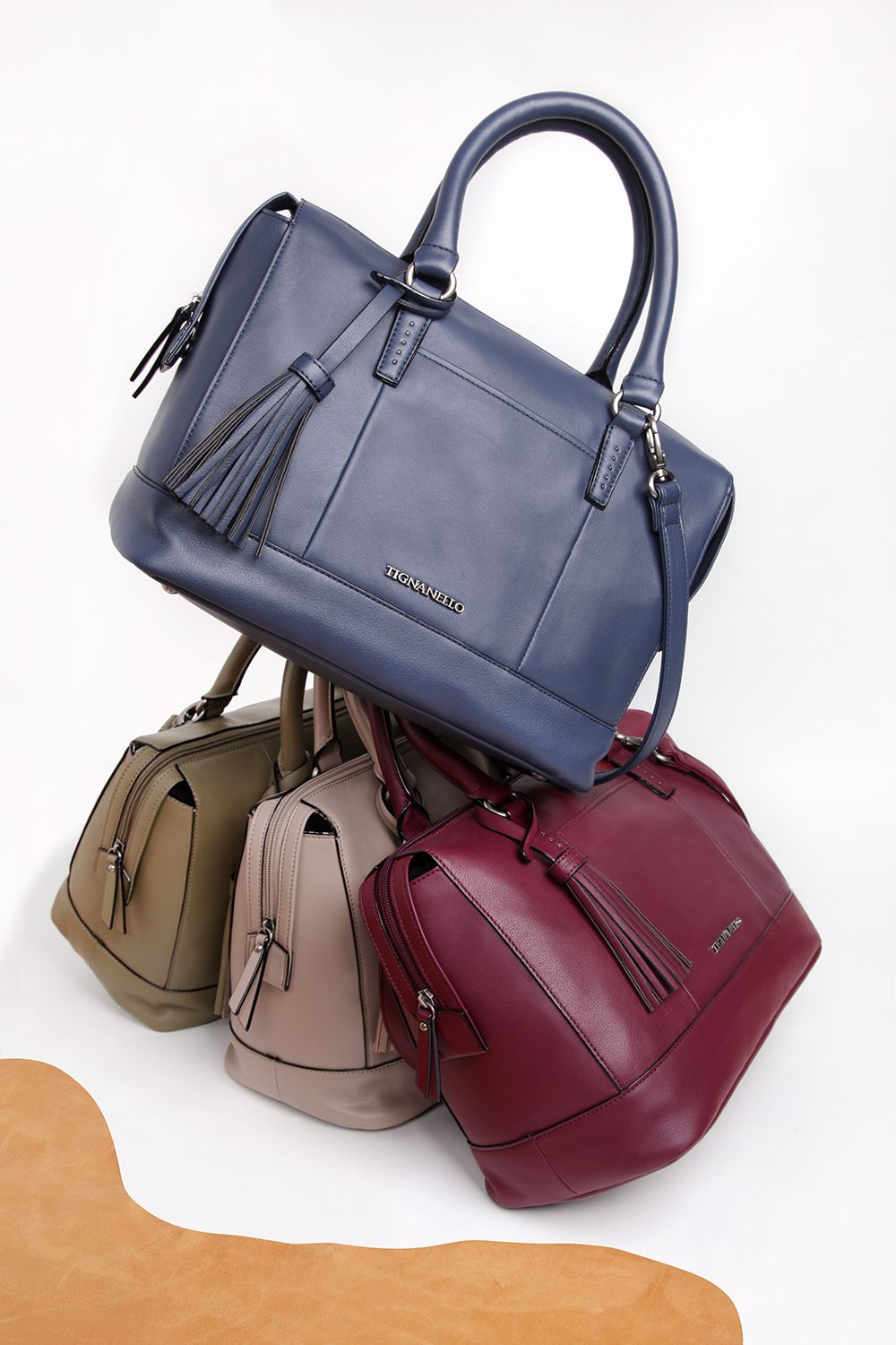Made Of Ery Smooth Leather This Barrel Shaped Satchel Is The