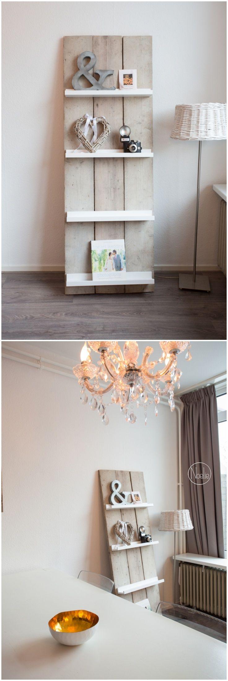 Tijdschriftenrek van steigerhout | for the home | Pinterest ...