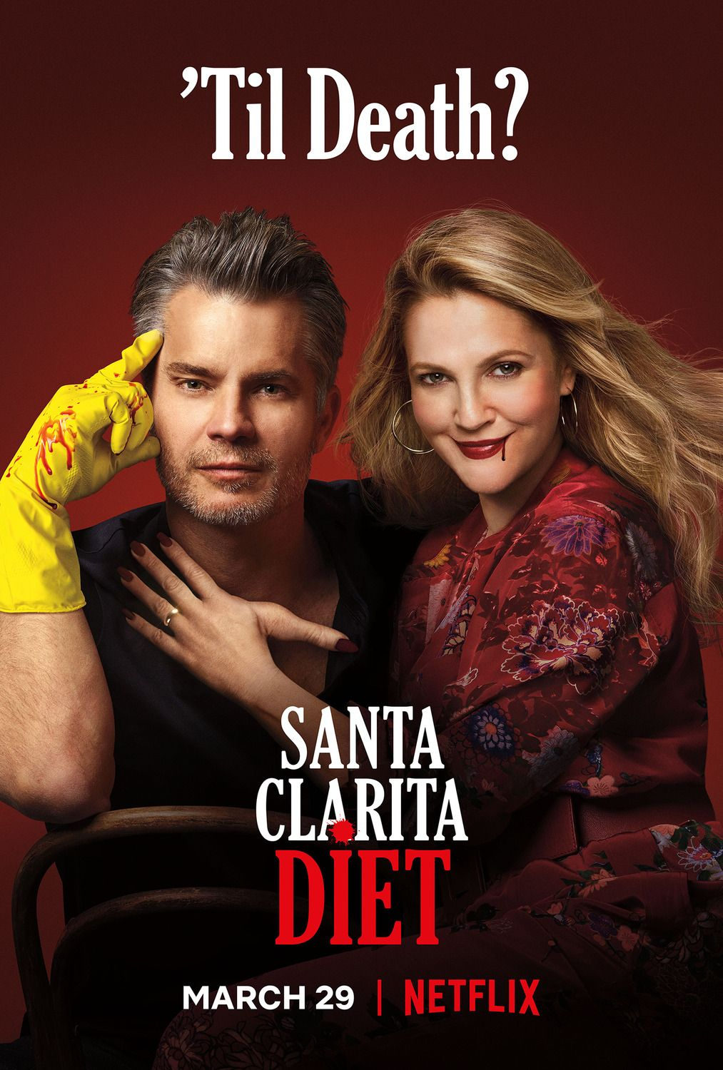 Return To The Main Poster Page For Santa Clarita Diet 10 Of 10 Santa Clarita Diet Netflix Santa Clarita Diet Clarita