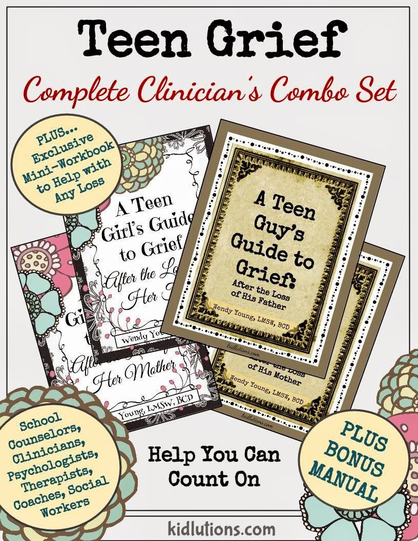 Teen Grief Workbooks for Parental Loss: The Complete Clinician's ...