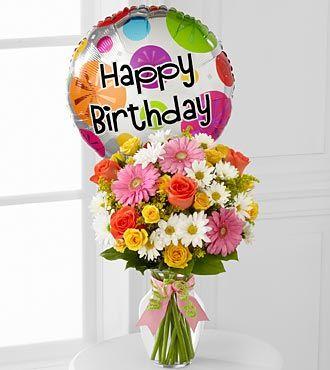 The FTDR Birthday CheerTM Bouquet