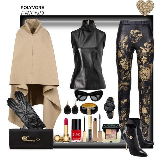 """""""Heart of gold!"""" by ritva-harjula on Polyvore"""