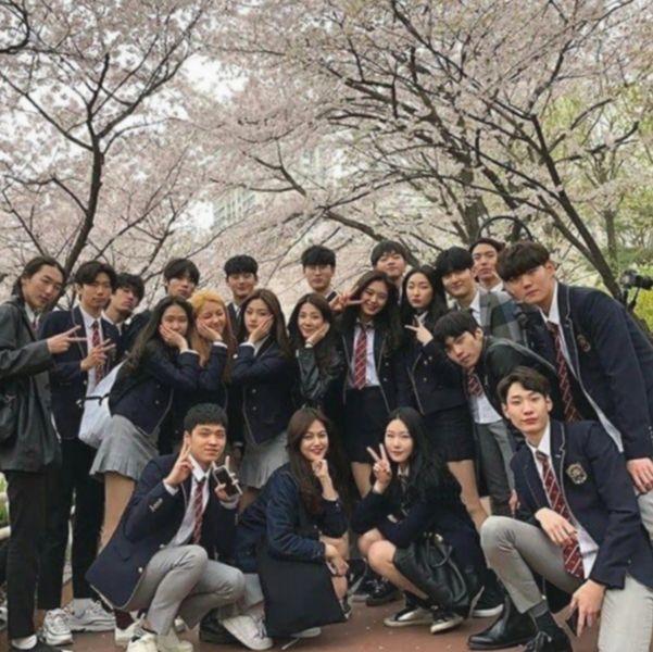 6+ Couple Ulzzang Korean School