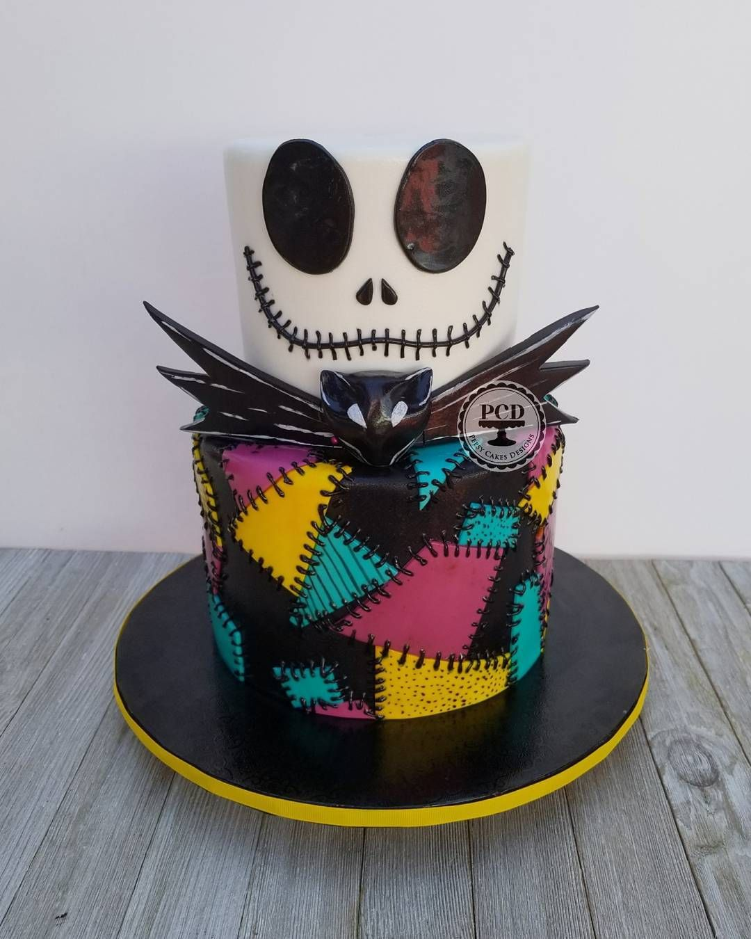 Magnificent Nightmare Before Christmas Cake All Wo With Funny Birthday Cards Online Elaedamsfinfo