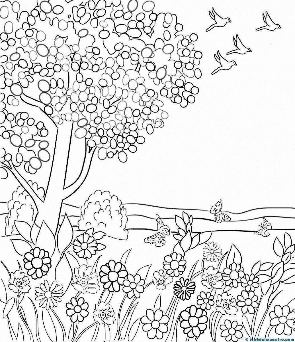 Paisajes para pintar | Primavera | Pinterest | Descargar paisajes ...