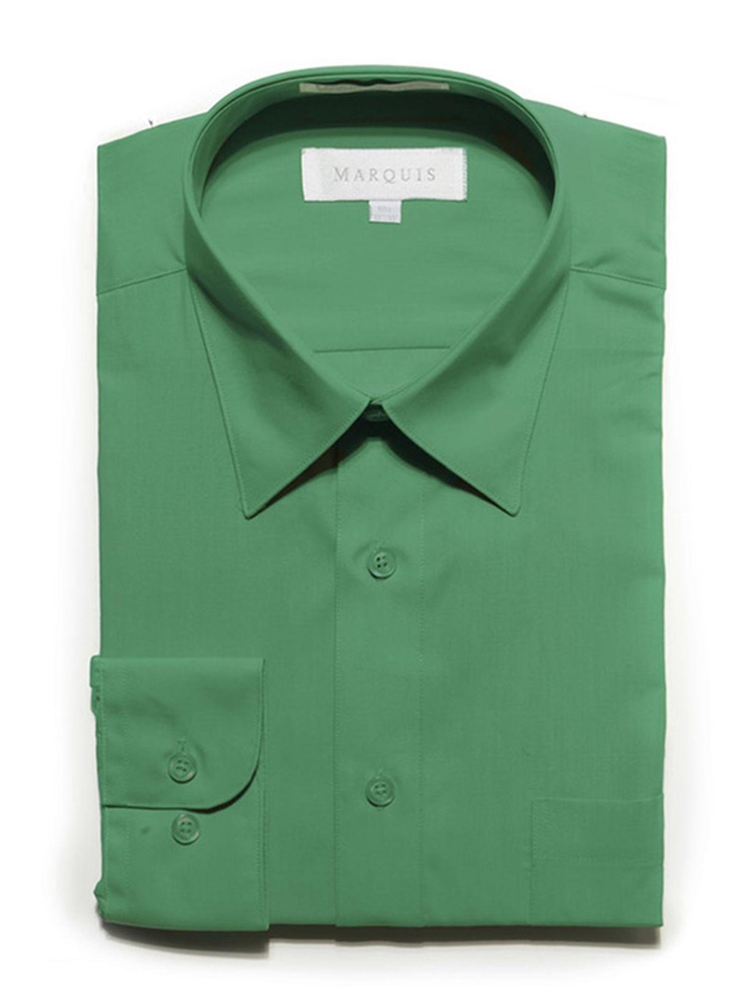 Marquis Marquis Men S Long Sleeve Regular Fit Dress Shirt Walmart Com Mens Shirt Dress Slim Fit Shirt Fitted Dress Shirts [ 2000 x 1500 Pixel ]