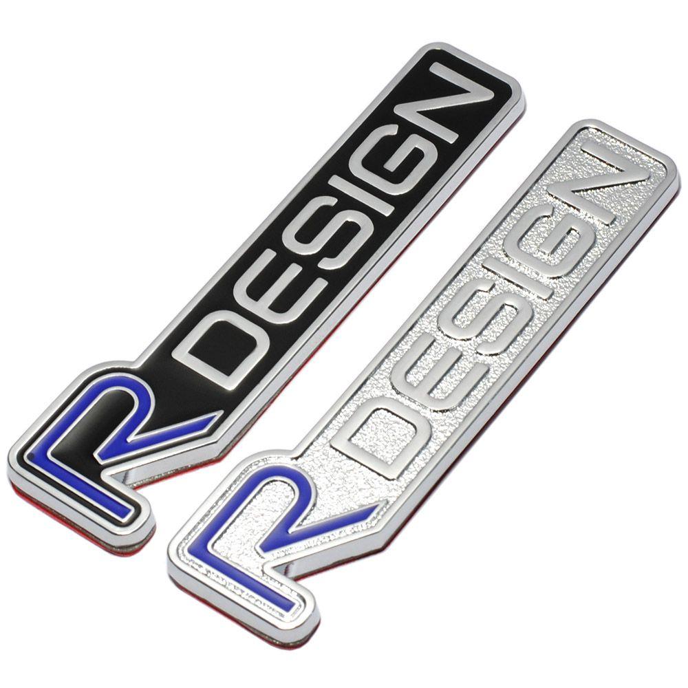 Kaufen 3d Metall R Design Rdesign Emblem Abzeichen Auto