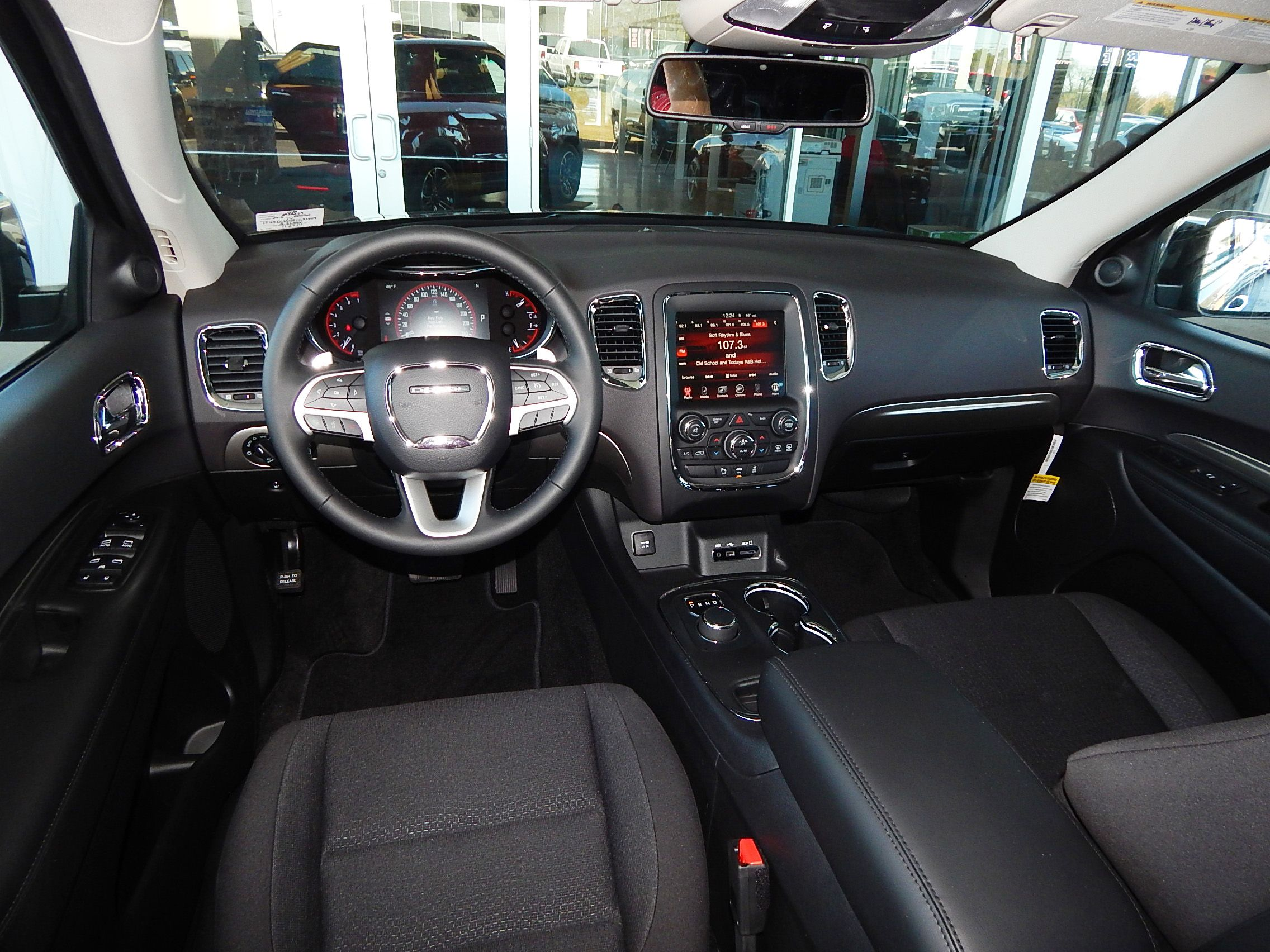 Interior View Of The 2015 Dodge Durango SXT. The Roomy SUV With Heart And  Power Performs With A Robust Platform, Innovative Technology And Versatile  ...