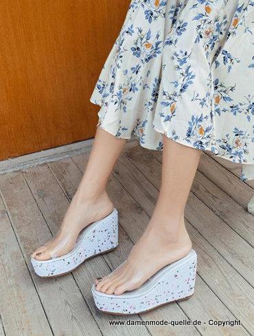Sommerschuhe in weiß online kaufen | OTTO